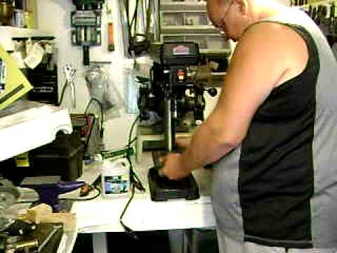 Jobmate drill press assembly and review.AVI