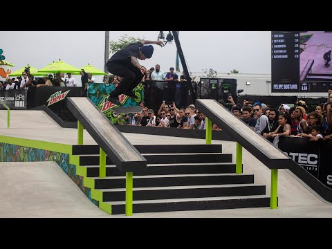 Men's Street Winning Runs 2019 Dew Tour Long Beach