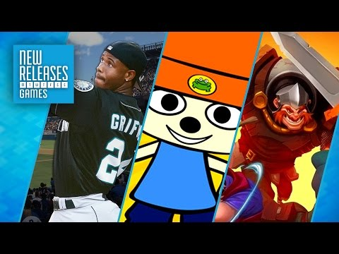 MLB The Show 17, PaRappa The Rapper Remastered, Has-Been Heroes - New Releases