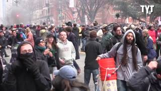 Anti-Trump Riots Rage In D.C. After Inauguration