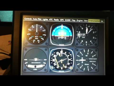 flight sim saitek cessna yoke . pedals . trim wheel . and more.