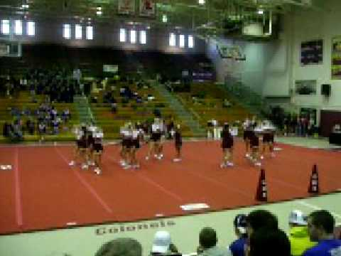 Garrard County Middle School Cheerleaders at Just Keep Dreaming Competition in Paris Ky 01/24/09