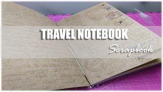 PAP Travel Notebook│Mini álbum Scrapbook