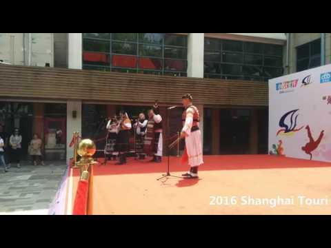 "2016 Shanghai Tourism Festival public show-FS ""PODPLANEC"" , Slovakia-3"