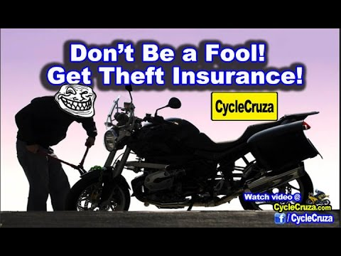 Motovlogger's Motorcycle Stolen..No Insurance! Get Motorcycle Theft Insurance! | MotoVlog