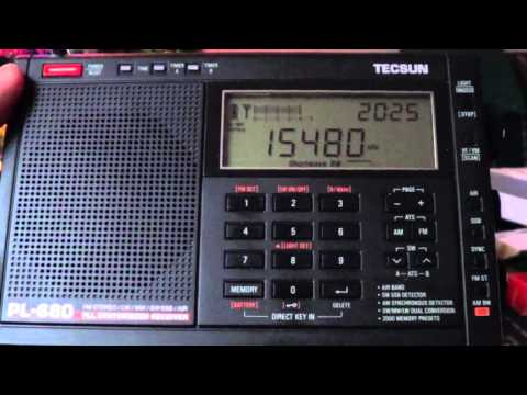 Adventist World Radio via South Africa 15480 Khz Tecsun PL 680