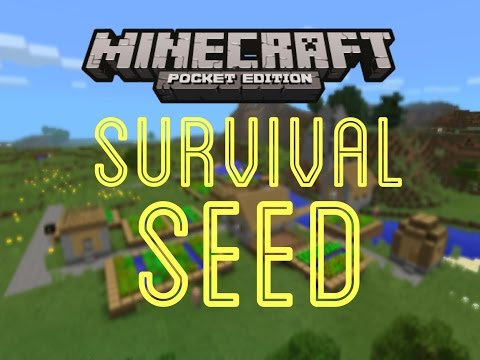 [0.9.4] Minecraft PE: Survival Seed/Village Seed Review
