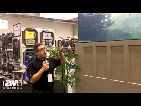 CEDIA 2015: Stealth Acoustics Shows Off Its Stealth Patio Theater – Large Format LED Outdoor Display