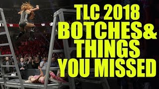 10 Botches, Fails & Mistakes You Might Have Missed at WWE TLC 2018