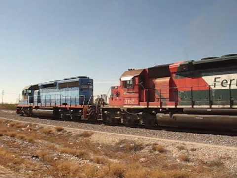 Encuentro entre trenes de Ferromex