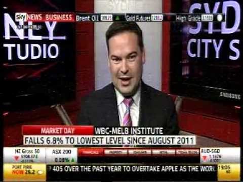Ryan Felsman, Senior Analyst, Colonial First State, Sky News Business Market Day 21 May 2014