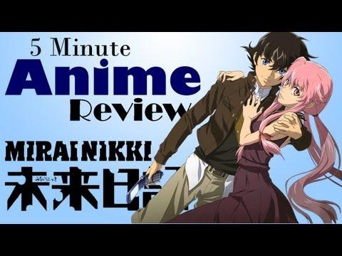 5 Minute Anime Review: Mirai Nikki