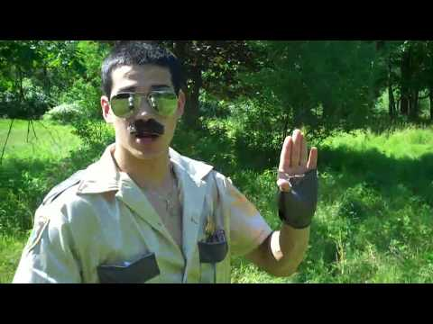 Border Wars: Lt. Dangle Takes On The Mexican Border Parody Hd video