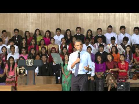 President Obama Answers Southeast Asian Youth's Questions in a Town Hall