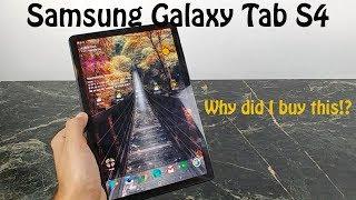 Samsung Galaxy Tab S4 : Impressions after a week