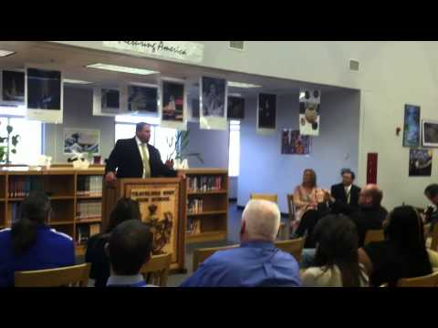 Travelers Rest High School - Ray Gould Press Conference (Part 1)