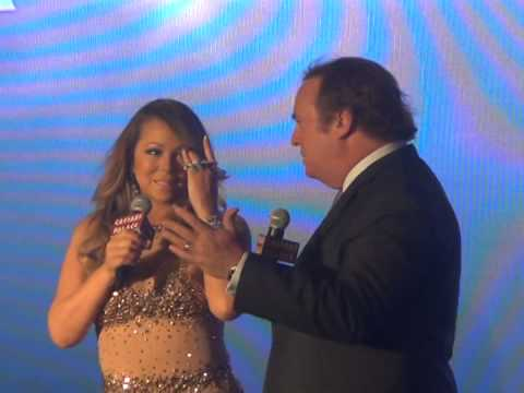 2015 MARIAH CAREY #1 To Infinity Welcome Event LAS VEGAS