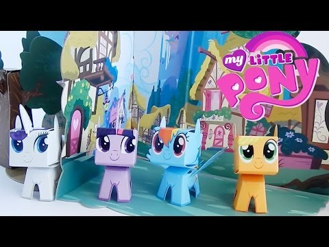 My Little Pony Boxos Paper Pony Playset by Funko Review