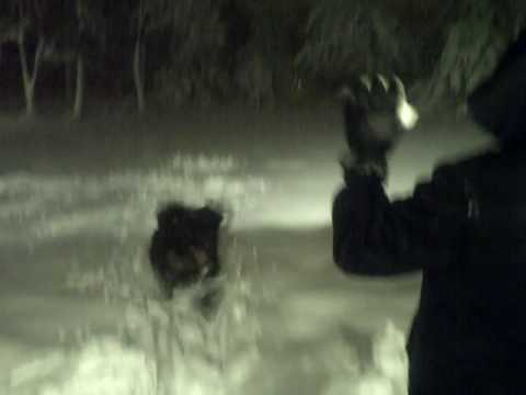 Joe being dominated by the high high snow