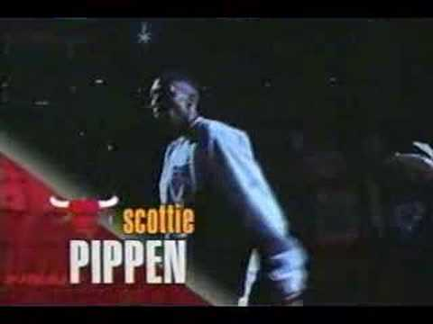 Chicago Bulls Introduction 1997 NBA Finals Game 6