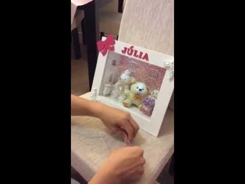 Como instalar luz led em quadro de maternidade