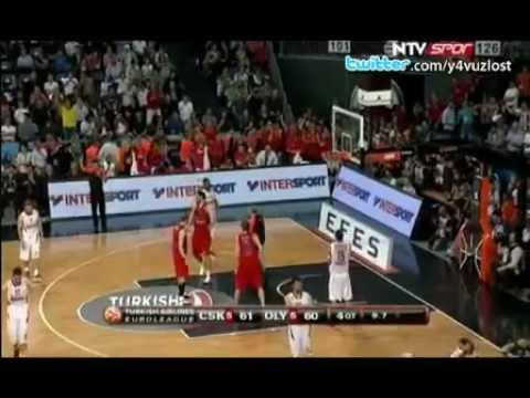 CSKA - OLYMPIAKOS 61-62 Τουρκική περιγραφή! Euroleague Final 2012