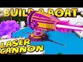 Lagu *CRAZY* WORKING LASER CANNON in Build a boat!