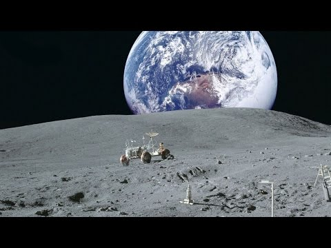 Луна взгляд из космоса / Moon view from space