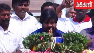 T Rajendar Pays Tribute To Anna On His Death Anniversary