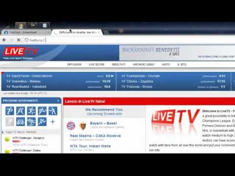 Vedere partite in HD e senza blocchi GRATIS