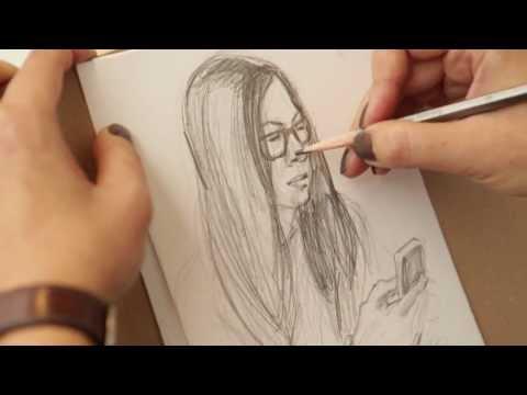 Уроки рисования с Олесей Бершадской. Скетчинг. Видеоуроки рисунка и графики от Art & Metier