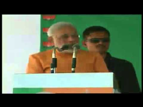 Shri Narendra Modi Addressing A Public Meeting In Alwar, Rajasthan Part 2 video