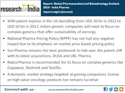 India Market Research Report : Global Pharmaceutical & Biotechnology Outlook 2013  India Pharma