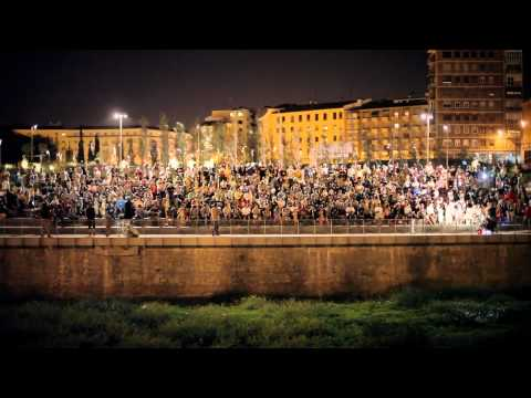 The biggest longboard meeting in Madrid Spain