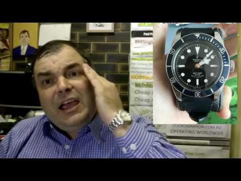 PAID WATCH REVIEWS - Tudor BlackBay Blue Sports Dive Watch