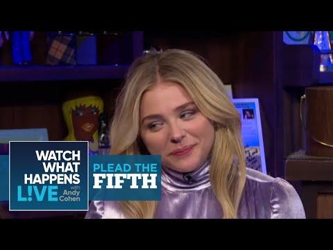 Chloe Moretz Talks Kim K., T. Swift & Brooklyn Beckham | Plead the Fifth | WWHL