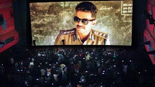 THERI – Thalapathy Vijay Fans Mass Celebration at Vettri Theatre | Theri Movie Re-release