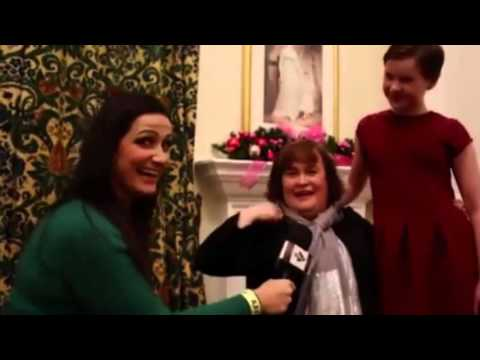 Susan Boyle - Interview STV 2015