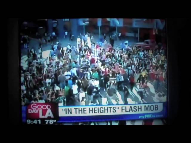 Lin-Manuel Miranda and Flash Mob America  on Good Day LA