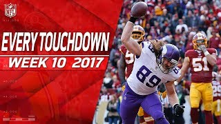 Every Touchdown from Week 10 | 2017 NFL Highlights