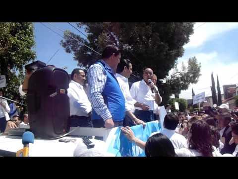 MARCOS AGUILAR HABLA A QUERÉTARO http://www.artemeradio.com