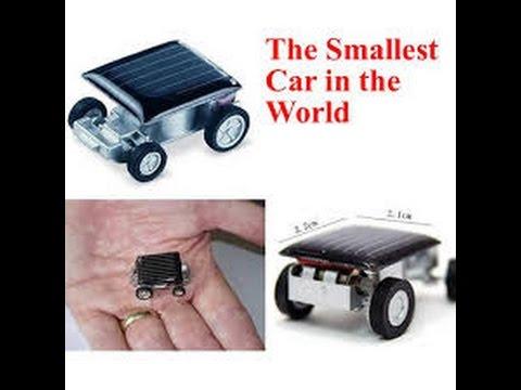 RC CAR Children Toy World's Smallest Solar Powered Car Children