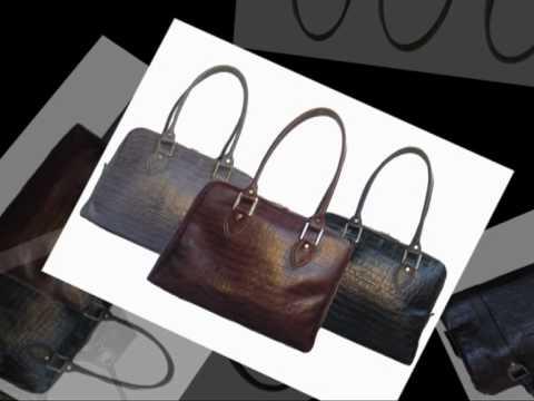 marcia carteras - bolsos y carteras de cuero.mpg