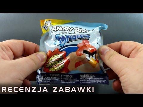 Wkurzony ptak z saszetki - polska recenzja zabawki - Angry Birds Mash'ems