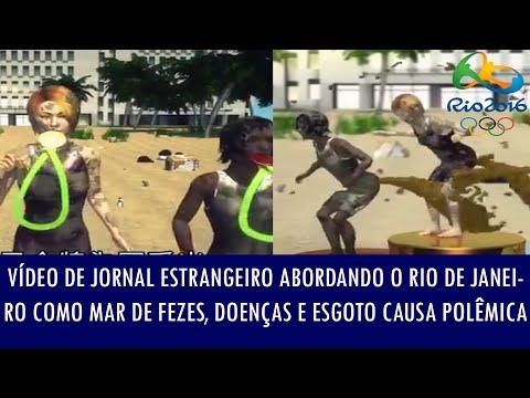 Vídeo de jornal estrangeiro abordando o Rio de Janeiro como mar de fezes e doenças causa polêmica
