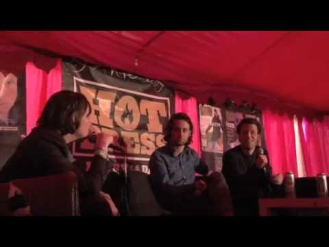 The Maccabees interview at Electric Picnic 2012