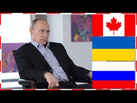Путин ЗАТКНУЛ всех:  где Канада и где Украина с Россией?