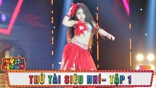 Cô bé Thanh Tuyền đốn tim khán giả với màn múa bụng cực dễ thương   Tập 1