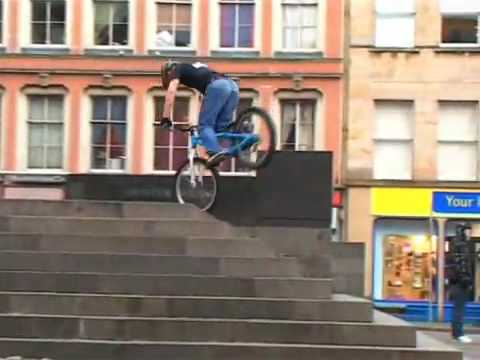 Crazy BMX tricks Video