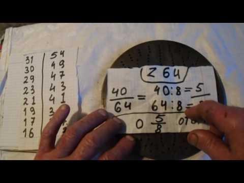 Как пользоваться делительным диском на УДГ